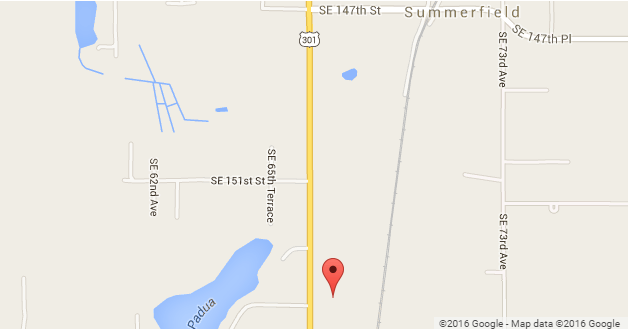 Summerfield Florida Map.Church Location Directions The Congregational Church In Summerfield