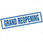 Grand Reopening – Sunday, July 5th — Billie & Kevin