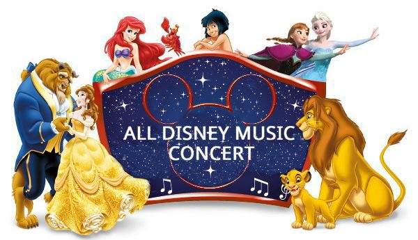 All Disney Music Concert – Wednesday, August 28th