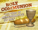 Holy Communion – October 4th