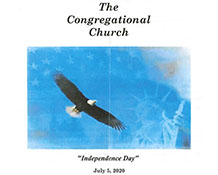 Sunday Bulletin – Independence Day -July 5, 2020